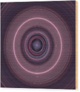 Local Subspace Vibrations Wood Print