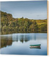 Loch Awe Reflections Wood Print