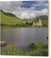 Loch Awe Stones Wood Print