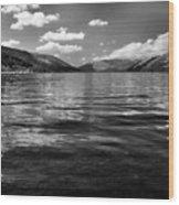 Loch Earn Scotland Wood Print