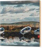 Loch Harray Dawn Iv Wood Print