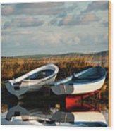 Loch Harray Dawn V Wood Print