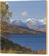Loch Katrine And The Arrochar Alps Wood Print
