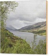 Loch Levern Wood Print