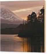 Loch Lochy Wood Print
