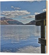 Loch Lomond And The Ben Wood Print