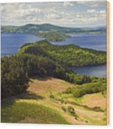 Loch Lomond From Conic Hill Wood Print
