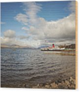Loch Lomond Landscape Wood Print