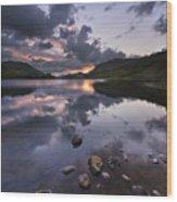 Loch Lubhair Wood Print