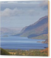 Loch Maree In The Highlands Of Scotland Wood Print