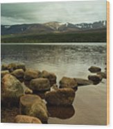 Loch Morlich And The Cairn Gorms Wood Print