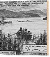 Loch Ness Monster, 1934 Wood Print
