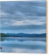Loch Rannoch Wood Print