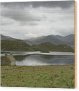 Loch Stack Wood Print