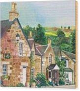 Loch Tummel Innn - Scotland Wood Print