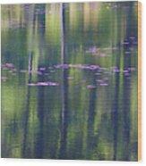Lochan Glennan Reflections Wood Print