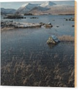 Lochan Nah-achlaise, Rannoch Moor, Scotland Wood Print