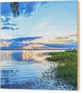 Lochloosa Lake Wood Print