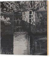 Lock 17 Wood Print