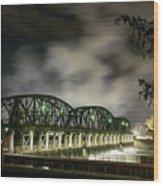 Lock 8 Erie Canal Wood Print