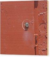 Lock Box Wood Print