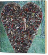 Locket Heart-3 Wood Print