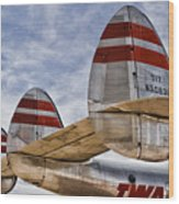 Lockheed Constellation Wood Print