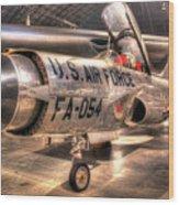 Lockheed F-94 Model C Starfire Wood Print