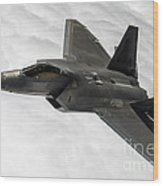 Lockheed Martin F-22 Raptor, 2015 Wood Print