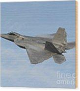 Lockheed Martin F-22 Raptor, 2016 Wood Print