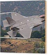 Lockheed Martin F-35 Lightning II, 2015 Wood Print