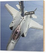 Lockheed Martin F-35 Lightning II, 2016 Wood Print