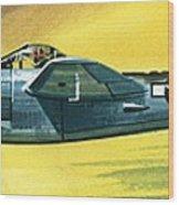 Lockheed P-38j Lightning Wood Print