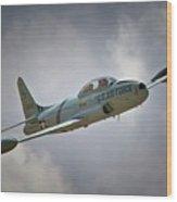 Lockheed P-80 Shooting Star 2011 Chino Air Show Wood Print