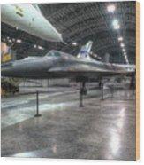 Lockheed Yf-12a Wood Print