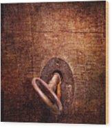 Locksmith - Locked  Wood Print