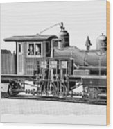 Locomotive, 1893 Wood Print