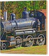 Locomotive 201 Wood Print