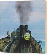 Locomotive 26 Steamtown  Wood Print