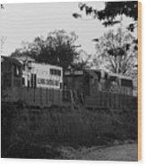Locomotive 8241 Wood Print