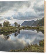 Lofoten Reflections Wood Print