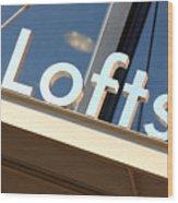 Lofts Wood Print