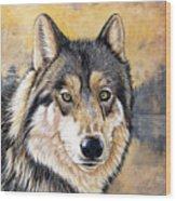 Loki Wood Print