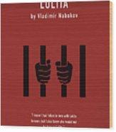 Lolita By Vladimir Nabokov Greatest Books Ever Series 019 Wood Print