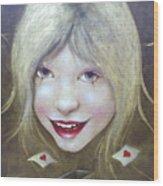 Lolita Died Wood Print