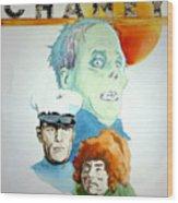 Lon Chaney Sr Wood Print