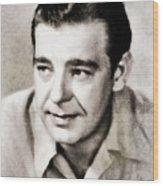 Lon Chaney, Vintage Actor Wood Print
