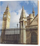 London - Big Ben  Wood Print