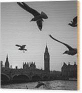 London, Big Ben  Wood Print