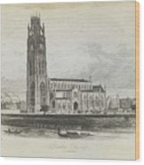London Boston Church. Wood Print